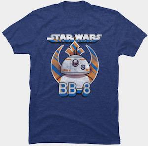 Star Wars Rebel Logo BB-8 T-Shirt